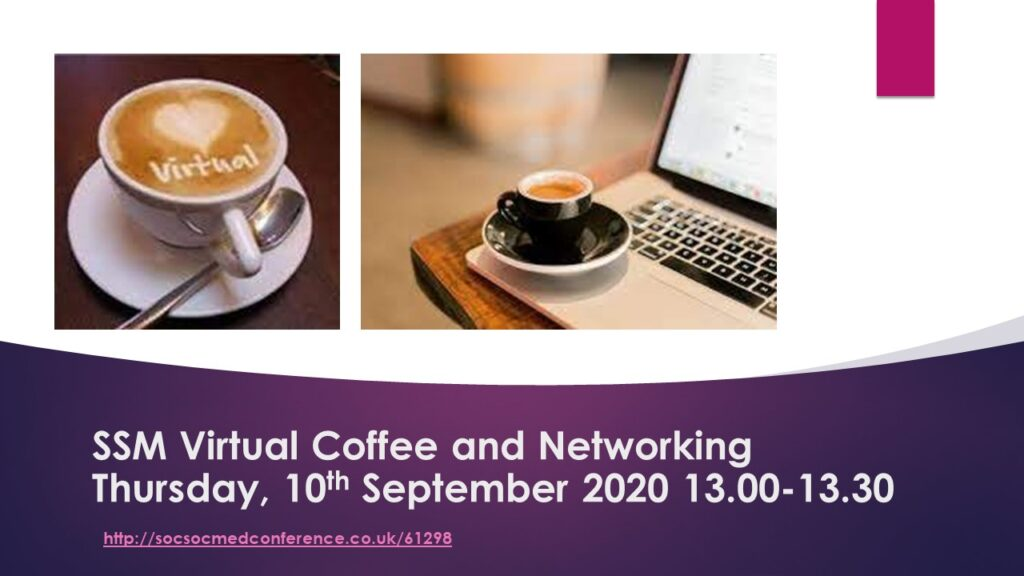 SSM Virtual Coffee and Networking